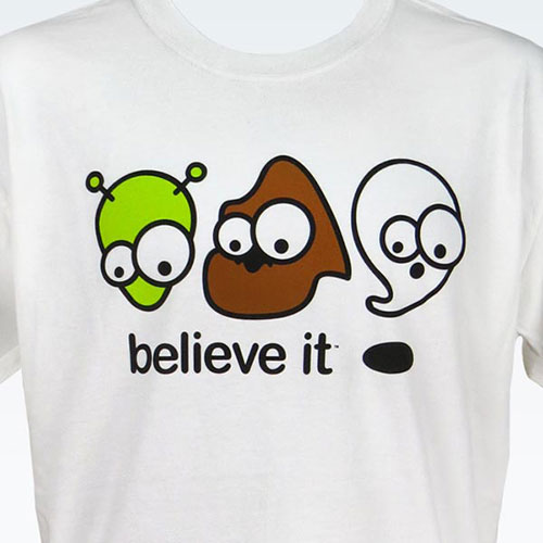 Alien, Bigfoot, & Ghost T-Shirt