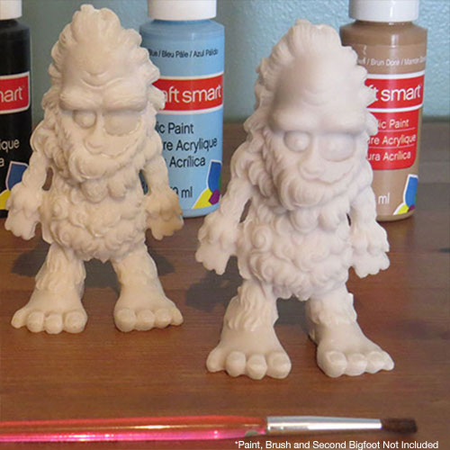 Painting Bigfoot DIY