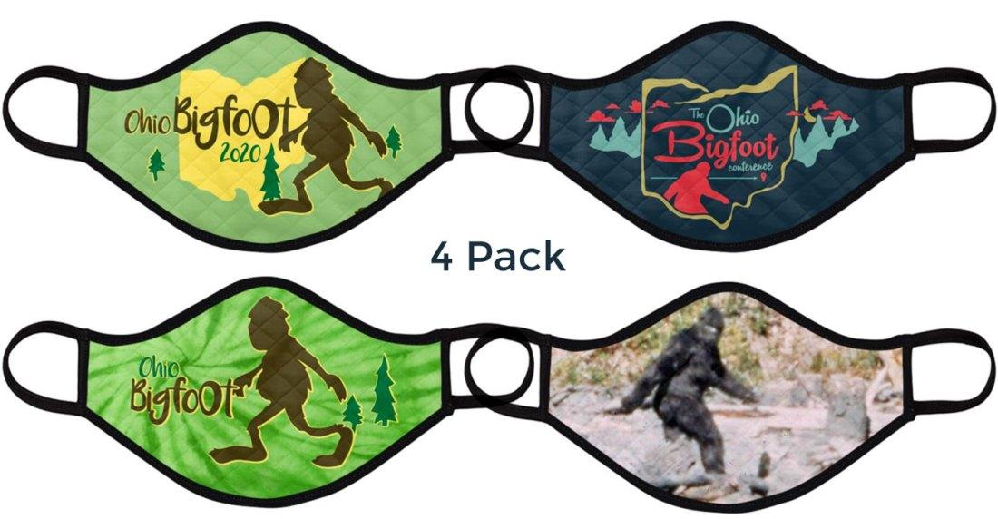 Ohio Bigfoot 4 pack