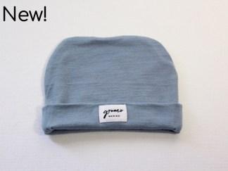 goomo.shop_baby beanie Australian Merino powder blue