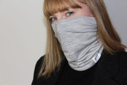 Goomo.shop_Gaiter face mask grey Marle