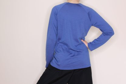 goomo.shop_long sleeve merino top cornflower blue