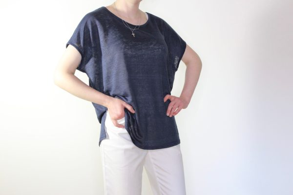 goomo.shop_linen Prussian Blue tank