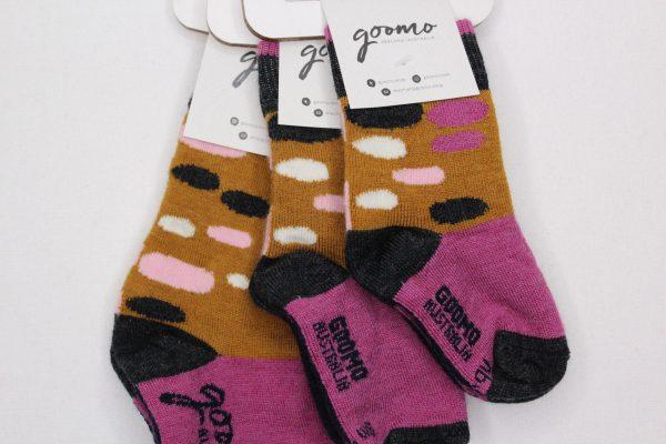 goomo.shop_Egg Ochre baby superfine Australian Merino socks