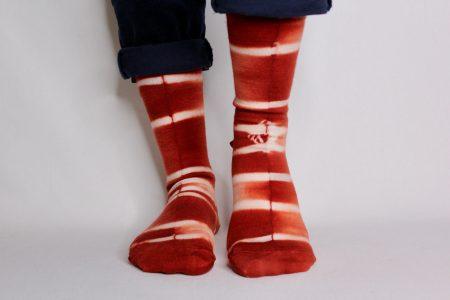 goomo.shop_hand dyed superfine Australian Merino socks