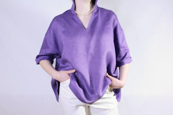 goomo.shop_thistle pure linen pop over top