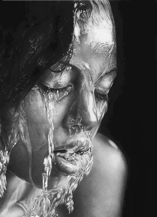 This Is A Pencil Sketch By Russian Artist Olga Melamory.. Amazing..!!