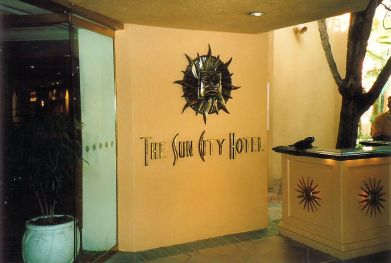 a1 Sun City Hotel Entrance