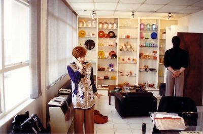 a6 Wayne and Sales Manager in Showroom
