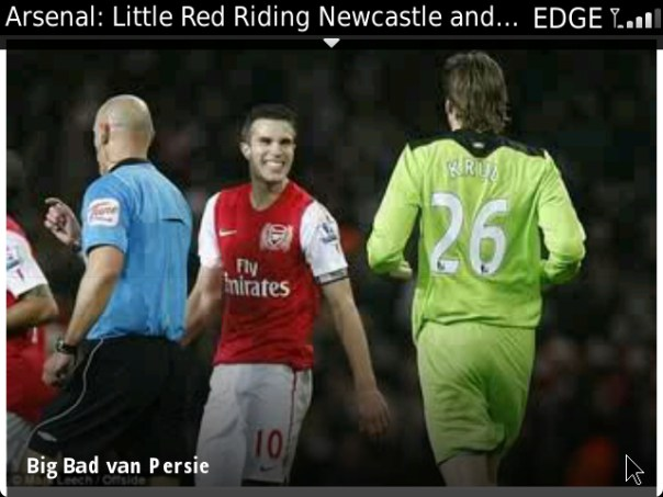 Big Bad van Persie