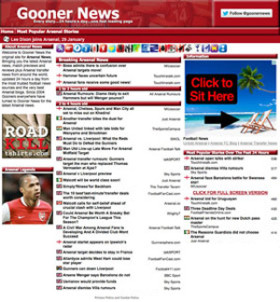 GoonerNews.com-Sept-2012 upgrade