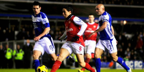 Birmingham City 0-3 Arsenal