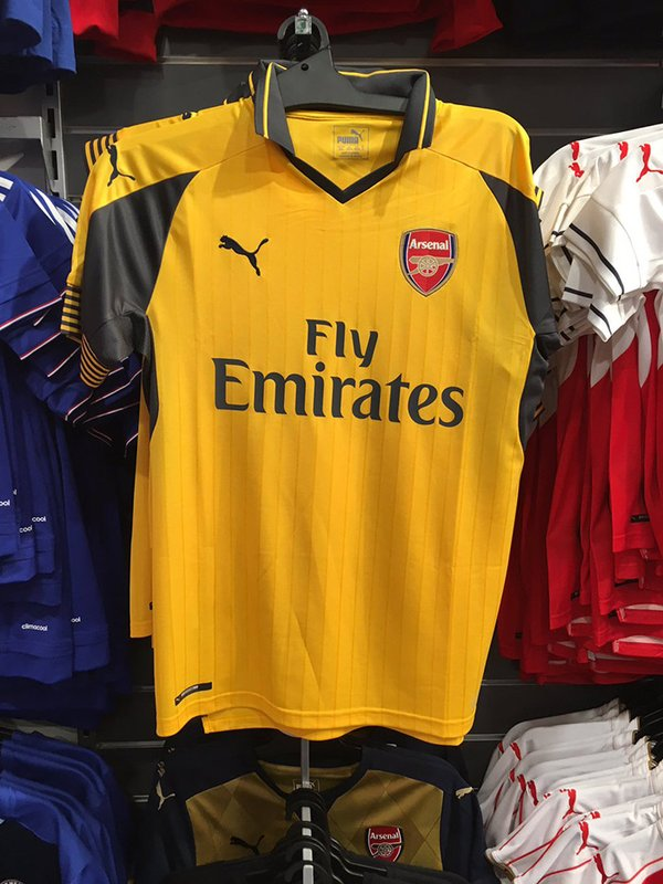 47109c85a Pictures  Arsenal s 2016 17 third kit leaked
