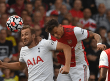 Jamie Carragher says Ben White 'bullied' Harry Kane in North London derby