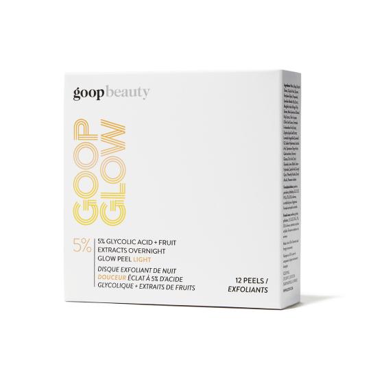 GOOPGLOW 5% Glycolic Acid Overnight Glow Peel Light