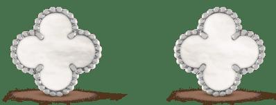 Van Cleef & Arpels stud earrings Van Cleef & Arpels, $5,550