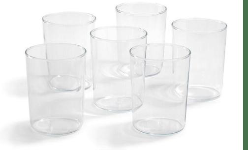 Trendglas JenaNarrow German Glass Cup, Set of 6