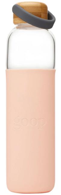 Soma x goop Glass Water Bottle, 25 oz goop, $40