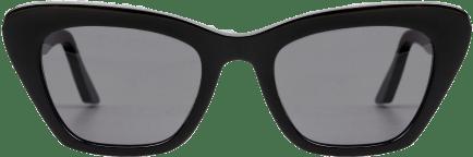 Lowercase sunglasses