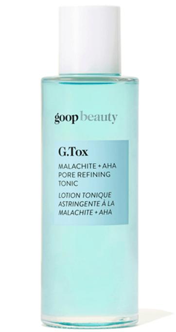 goop Beauty G.Tox Malachite + AHA Pore Refining Tonic
