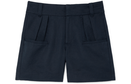 G. Label Miller High-Waisted Pleated Shorts