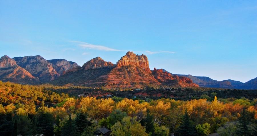 view of Sedona Arizona