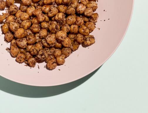 Crunchy Chickpeas with Za'atar and Sumac