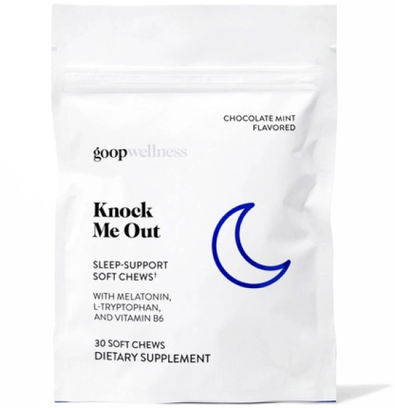 goop Wellness KNOCK ME OUT goop, $55 for 60/$30 for 30