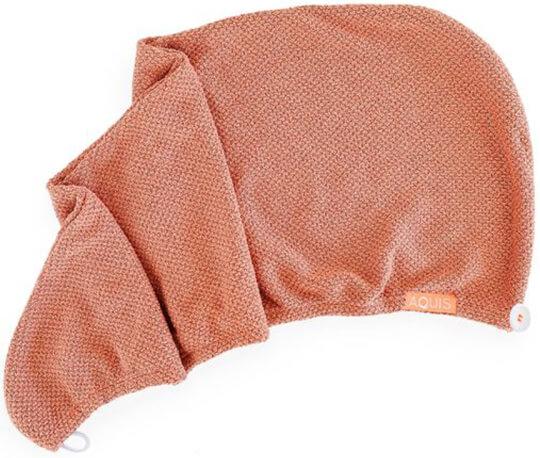 Aquis Copper Sure Rapid Dry Hair Wrap