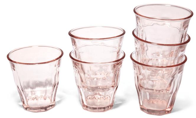Caravan Bistro Glasses, Set of 6 goop, $68