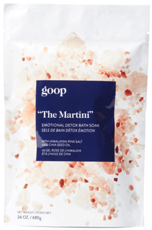 goop Beauty The Martini Emotion Detox Bath Soak