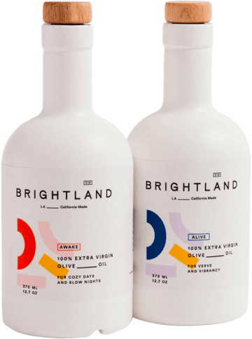 Brightland THE DUO EXTRA VIRGIN OLIVE OILS
