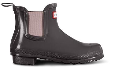 Hunter Gloss Chelsea Boot