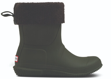 Hunter Insulated Roll Top Sherpa Boot