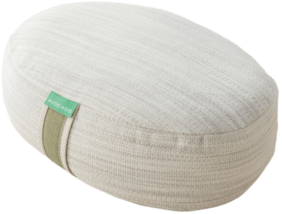 Avocado Green Mattress Organic Yoga Meditation Pillow