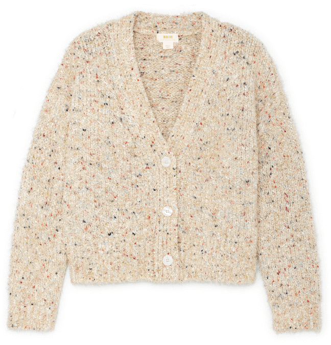Anthropologie Twinkle Cropped Cardigan
