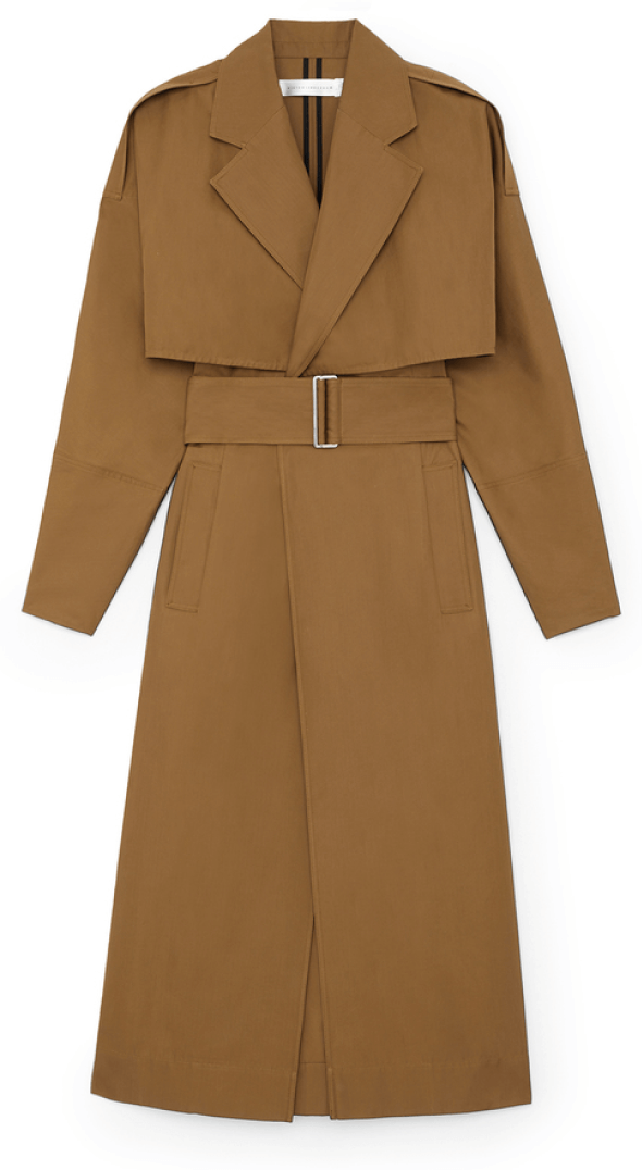 Vicoria Beckham trench coat