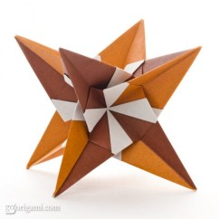 Kusudama Ball Diagram Vw Polo 6n Wiring Morning Star By Miyuki Kawamura — Modular Origami | Go