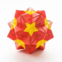 Soccer Ball Modular Origami Diagram 2004 Kia Spectra Stereo Wiring Star Sonobe By Maria Sinayskaya  Instructions Go