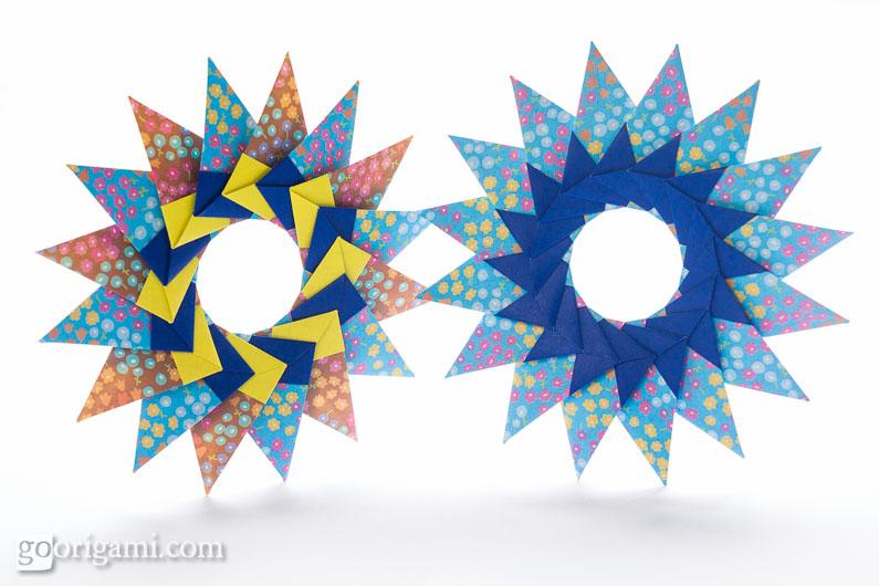 cool modular origami diagram 1996 nissan maxima stereo wiring tico star by maria sinayskaya go