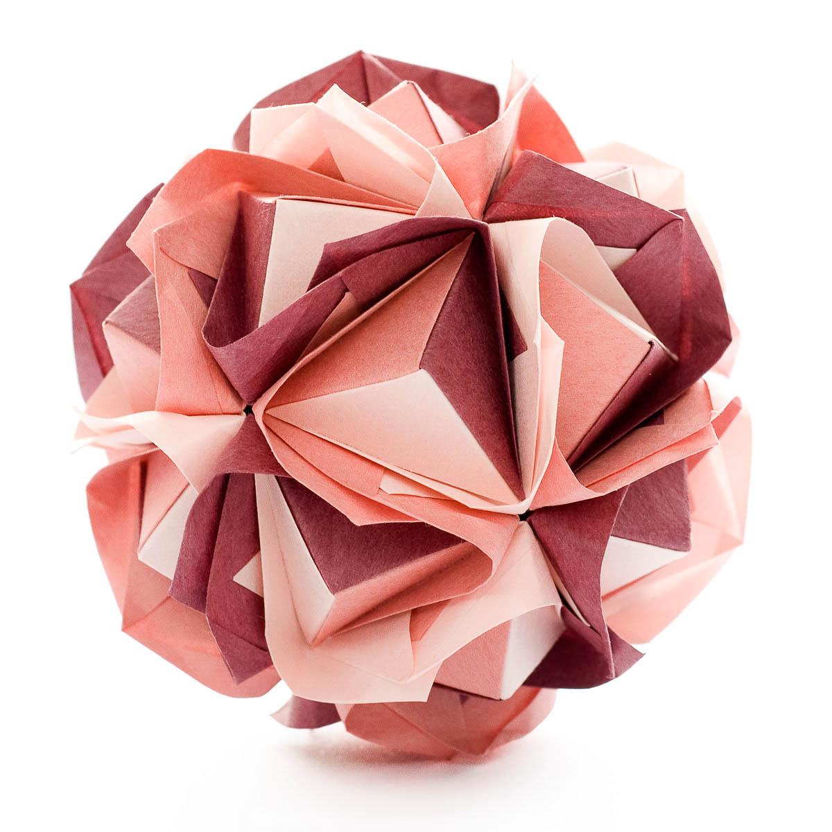 origami flower instruction diagram lutron wiring grafik eye clover kusudama by maria sinayskaya  go