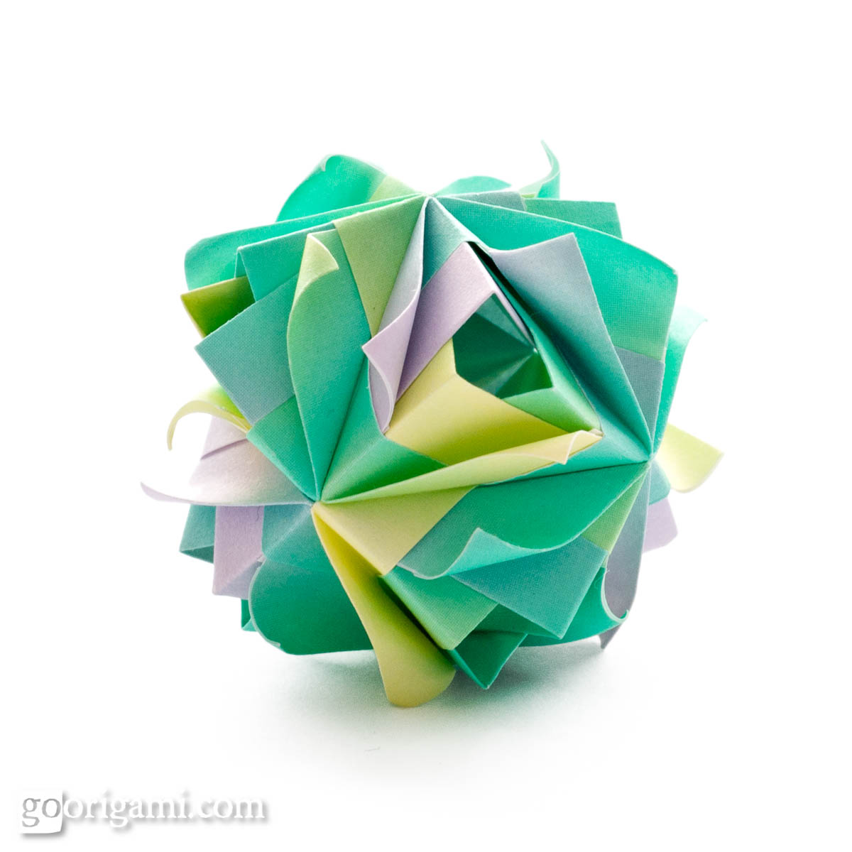 kusudama ball diagram 2003 jetta 1 8t wiring etna by maria sinayskaya  go origami