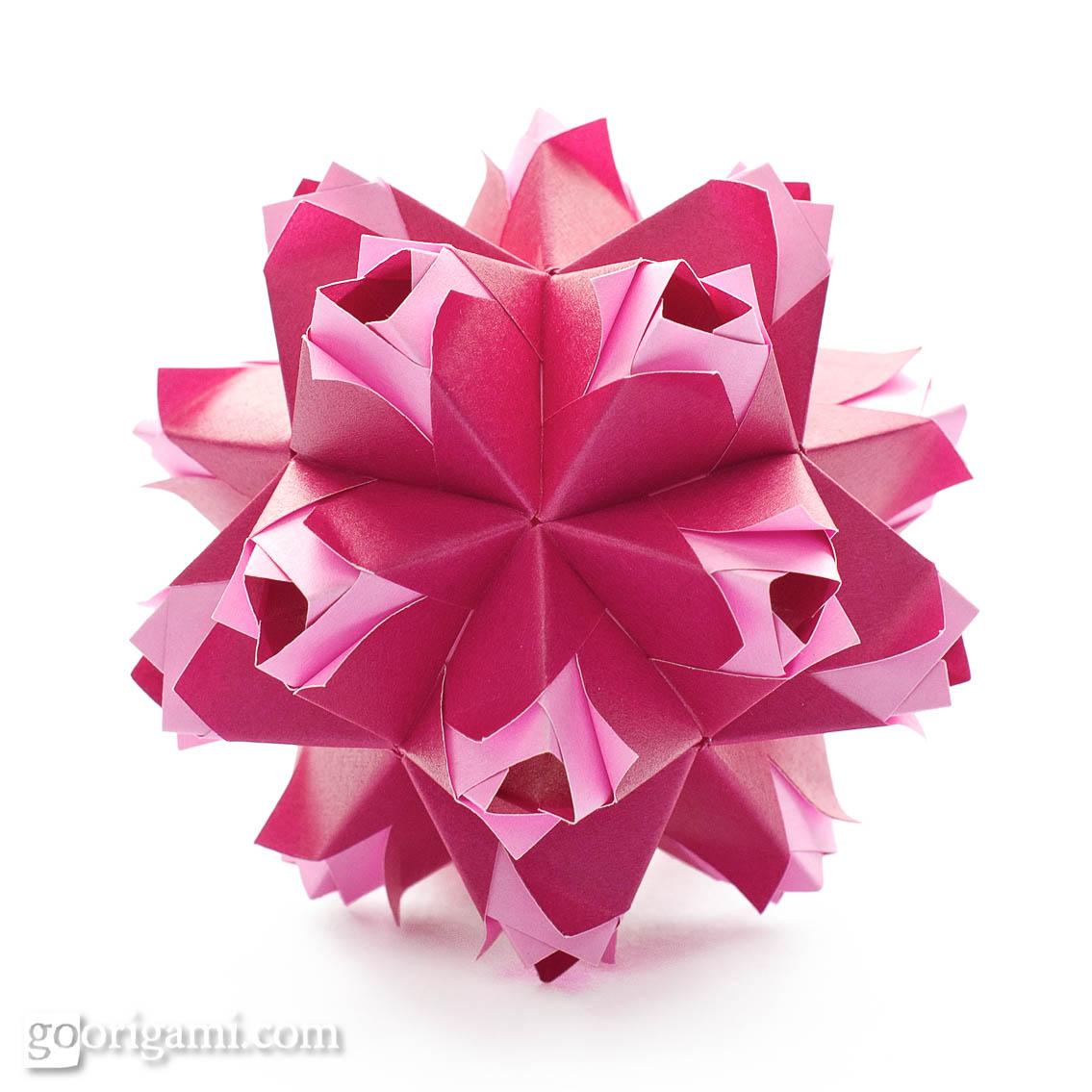 kusudama ball diagram ford 3000 wiring caramel by maria sinayskaya  go origami