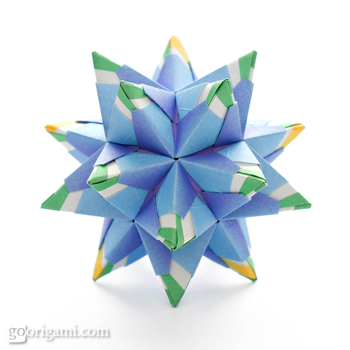 origami flower diagram in english tekonsha prodigy p3 brake controller wiring chandelle kusudama by maria sinayskaya  go