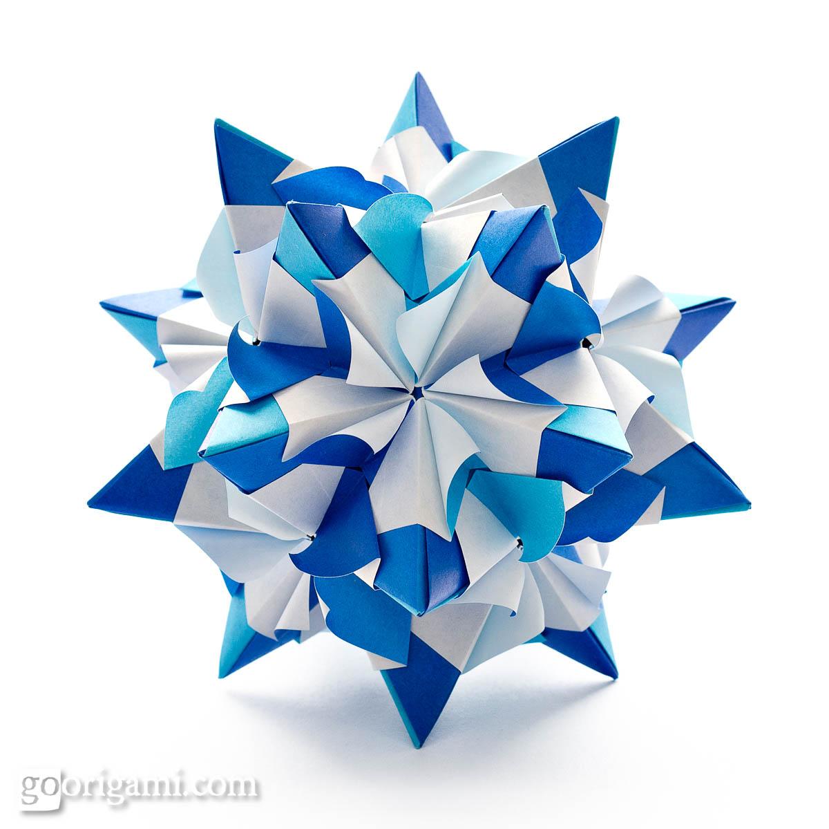 kusudama ball diagram dual battery switch wiring unique marine chandelle by maria sinayskaya  go origami