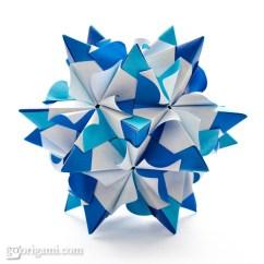 Kusudama Ball Diagram Wiring For Maytag Dryer Chandelle By Maria Sinayskaya  Go Origami