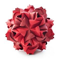 Kusudama Ball Diagram 2001 Dodge Ram 1500 Alternator Wiring Little Roses By Maria Sinayskaya — | Go Origami