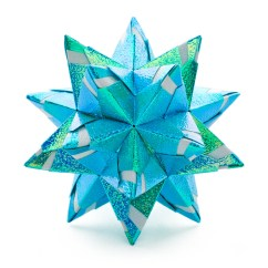 Star Flower Origami Diagram 2016 Ford F150 Power Mirror Wiring Chandelle Kusudama By Maria Sinayskaya  Go