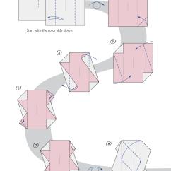 Kusudama Ball Diagram 2001 Chevy Silverado 2500hd Radio Wiring Clover By Maria Sinayskaya — | Go Origami
