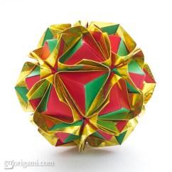 Soccer Ball Modular Origami Diagram 2006 Chrysler Pacifica Engine Clover Kusudama By Maria Sinayskaya  Go